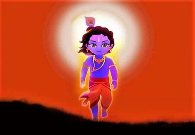 India celebrating krishna Janmastmi